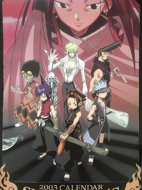 Hiroyuki Takei, Xebec, Shaman King, Faust VIII, Ren Tao