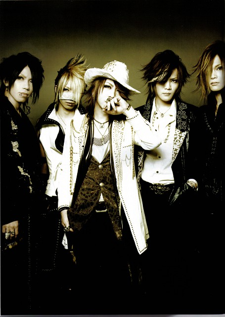 Ruki, Aoi (J-Pop Idol), Gazette, Uruha, Kai