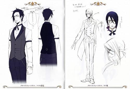 Yana Toboso, Kuroshitsuji, Claude Faustus, Character Sheet
