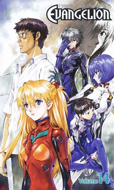 Yoshiyuki Sadamoto, Neon Genesis Evangelion, Shinji Ikari, Kaworu Nagisa, Gendo Ikari