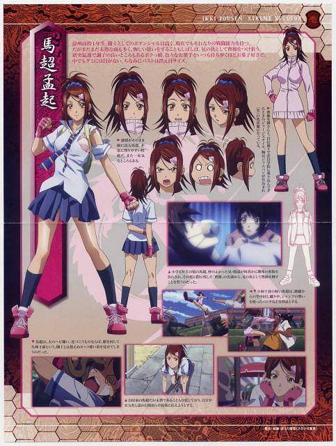 J.C. Staff, Ikkitousen, Bachou Mouki, Character Sheet