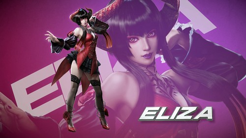 Namco, Tekken, Eliza (Tekken), Official Wallpaper