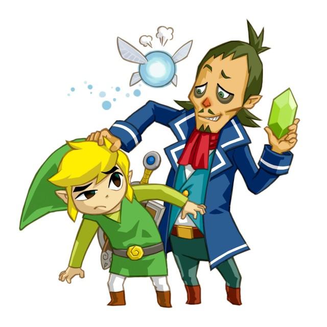 Nintendo, The Legend of Zelda: Phantom Hourglass, The Legend of Zelda, Toon Link, Navi