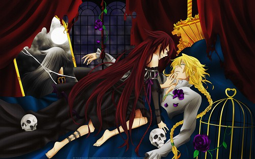 Jun Mochizuki, Xebec, Pandora Hearts, Jack Vessalius, Alice Wallpaper