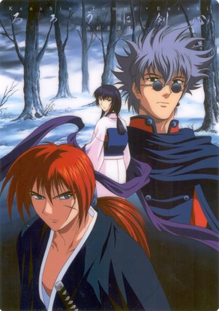 Nobuhiro Watsuki, Studio DEEN, Rurouni Kenshin, Kenshin Himura, Enishi Yukishiro