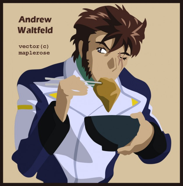 Sunrise (Studio), Mobile Suit Gundam SEED Destiny, Andrew Waltfeld, Vector Art