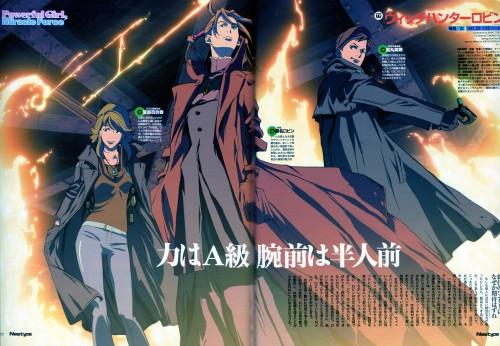 Sunrise (Studio), Witch Hunter Robin, Robin Sena, Haruto Sakaki, Yurika Doujima