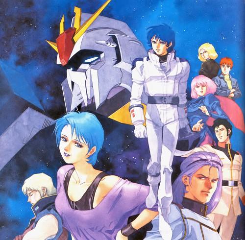 Hiroyuki Kitazume, Sunrise (Studio), Mobile Suit Zeta Gundam, Amuro Ray, Paptimus Scirocco