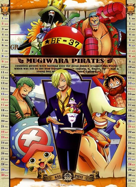 Eiichiro Oda, Toei Animation, One Piece, One Piece 2012 Calendar, Usopp