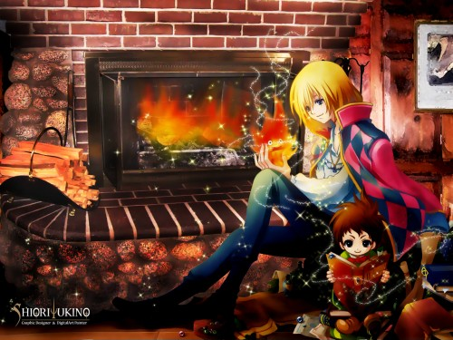 CLOCK + Kaitou M // CAIN, Howl's Moving Castle, Calcifer, Markl Fisher, Howl Jenkins Wallpaper