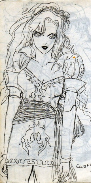 Ayami Kojima, Konami, Castlevania, Maria Renard, Member Art