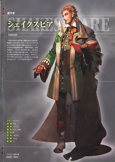 Ototsugu Konoe, Closet Child, Fate/Apocrypha, Shakespeare, Character Sheet