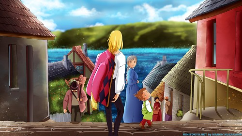 Howl's Moving Castle Wallpaper
