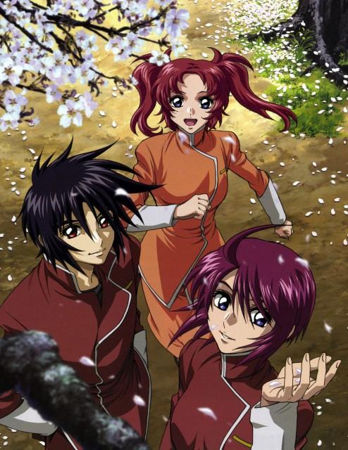 Sunrise (Studio), Mobile Suit Gundam SEED Destiny, Meyrin Hawke, Lunamaria Hawke, Shinn Asuka