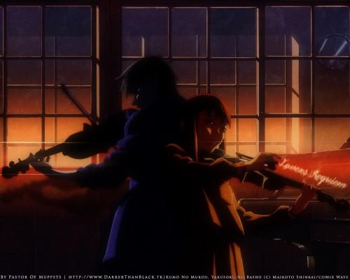 Makoto Shinkai, The Place Promised in Our Early Days, Hiroki Fujisawa, Sayuri Sawatari Wallpaper