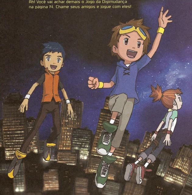 Toei Animation, Digimon Tamers, Ruki Makino, Jianliang Li, Takato Matsuda