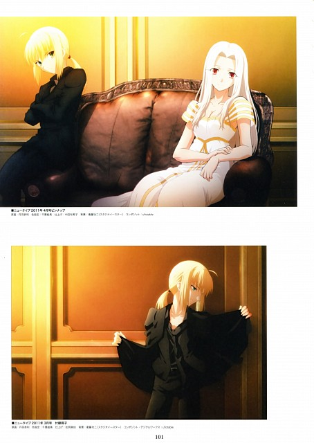 Ufotable, TYPE-MOON, Fate/Zero, Fate/Zero Animation Visual Guide I, Irisviel von Einzbern