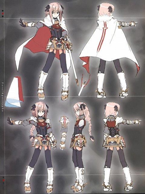 Ototsugu Konoe, Closet Child, Fate/Apocrypha, Astolfo, Character Sheet
