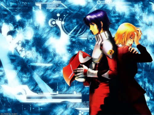 Chimaki Kuori, Sunrise (Studio), Mobile Suit Gundam SEED Destiny, Cagalli Yula Athha, Athrun Zala Wallpaper