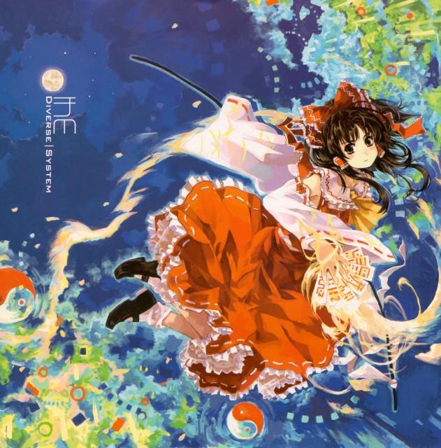 Touhou, Reimu Hakurei, Album Cover