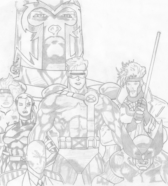 Marvel, Marvel vs Capcom 3, Wolverine (Character), Gambit, Jean Grey