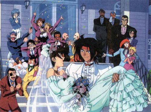 Sunrise (Studio), Mobile Fighter G Gundam, Sai Saici, Allenby Beardsley, Domon Kasshu