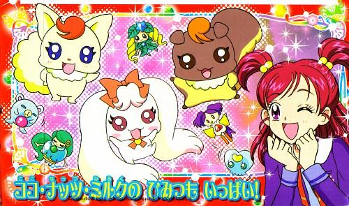 Toei Animation, Yes! Precure 5, Nozomi Yumehara, Natts, Coco (Yes! Precure 5)