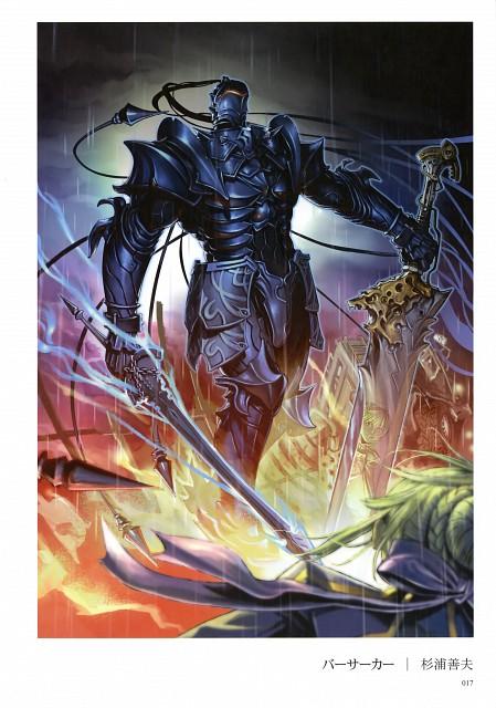 Yoshio Sugiura, TYPE-MOON, Fate/Zero, Fate/Zero Tribute Arts, Berserker (Fate/Zero)