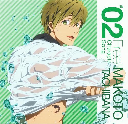 Futoshi Nishiya, Kyoto Animation, Free!, Makoto Tachibana, Album Cover