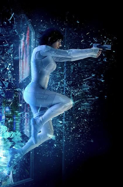 DreamWorks, Ghost in the Shell, Motoko Kusanagi, Live Action
