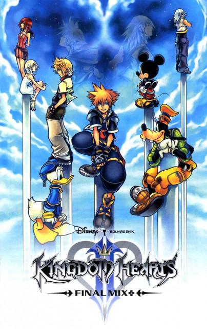 Square Enix, Kingdom Hearts, Donald Duck, Naminé, Riku