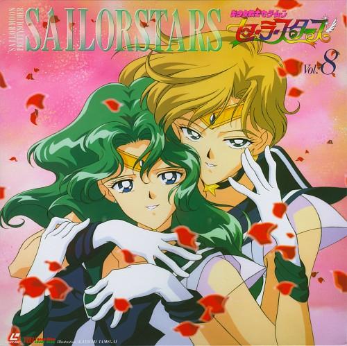 Toei Animation, Bishoujo Senshi Sailor Moon, Sailor Uranus, Sailor Neptune, Album Cover