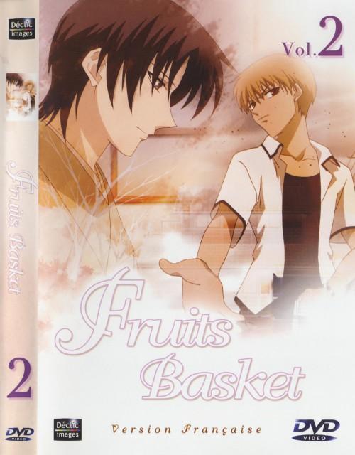 Natsuki Takaya, Fruits Basket, Shigure Sohma, Kyo Sohma, DVD Cover