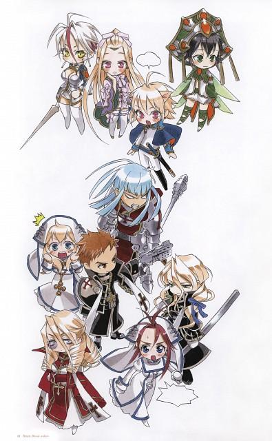 Kiyo Kyujyo, Gonzo, Trinity Blood, Rubor, Astharoshe Asran