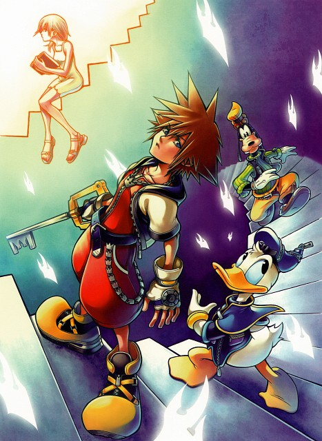 Square Enix, Kingdom Hearts Series Memorial Ultimania, Kingdom Hearts, Goofy, Donald Duck