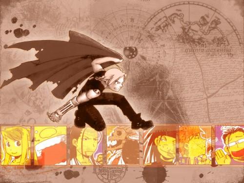 Hiromu Arakawa, BONES, Fullmetal Alchemist, Winry Rockbell, Maes Hughes Wallpaper