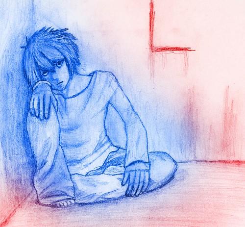 Death Note, L, Member Art