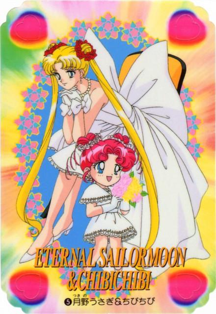 Toei Animation, Bishoujo Senshi Sailor Moon, Chibi Chibi, Usagi Tsukino, Trading Cards