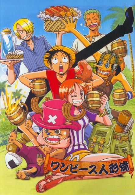 Eiichiro Oda, One Piece, Nami, Sanji, Monkey D. Luffy