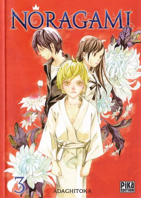 Toka Adachi, Noragami, Hiyori Iki, Yukine (Noragami), Yato (Noragami)