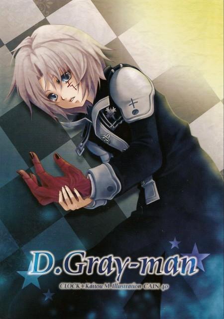 D Gray-Man, Allen Walker, Doujinshi Cover, Doujinshi
