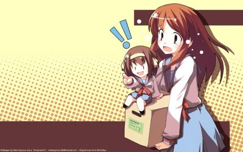 Noizi Ito, Kyoto Animation, The Melancholy of Suzumiya Haruhi, Mikuru Asahina, Haruhi Suzumiya Wallpaper