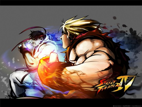 Capcom, Street Fighter, Ken Masters, Ryu Wallpaper