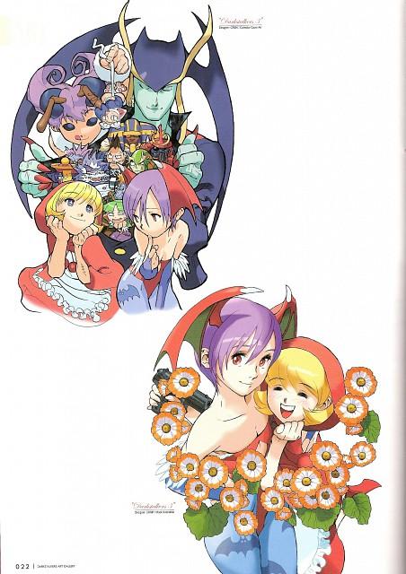Capcom, Darkstalkers Graphic File, Dark Stalkers, Felicia, Anakaris