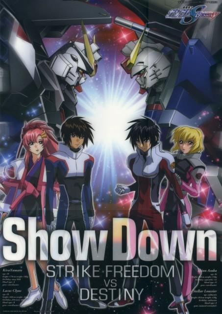 Sunrise (Studio), Mobile Suit Gundam SEED Destiny, Stellar Loussier, Shinn Asuka, Kira Yamato