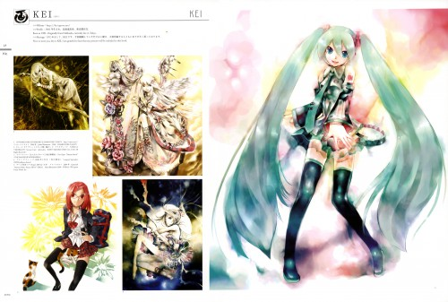 KEI, 100 Masters of Bishojo Painting , Mikucolor, Vocaloid, Miku Hatsune