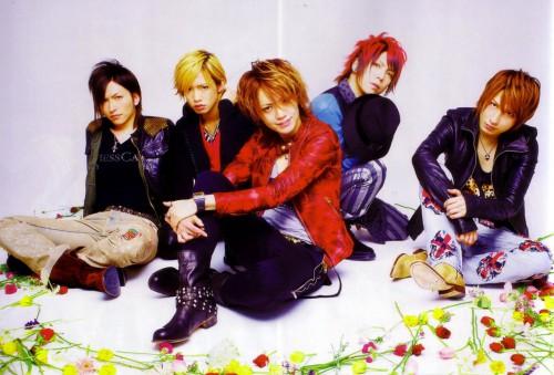 Nao, Saga (J-Pop Idol), Shou, Alice Nine, Hiroto