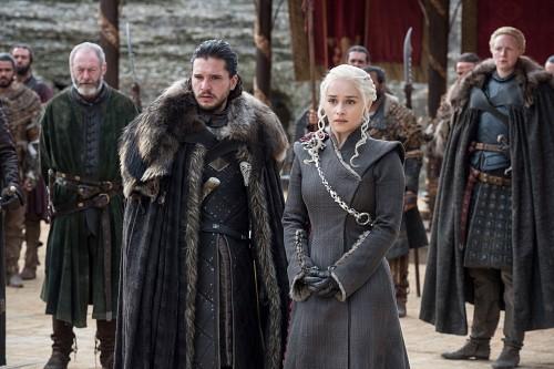 Game of Thrones, Daenerys Targaryen, Brienne of Tarth, Jon Snow