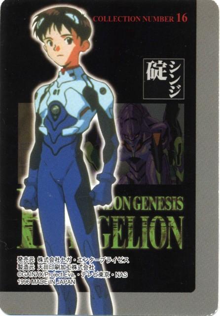 Yoshiyuki Sadamoto, Neon Genesis Evangelion, Shinji Ikari