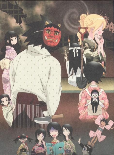 Shaft (Studio), Sayonara Zetsubou Sensei, Tarou Sekiutsu, Nozomu Itoshiki, Abiru Kobushi